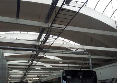 Dopravní podnik - Vršovice, hala na opravu autobusů