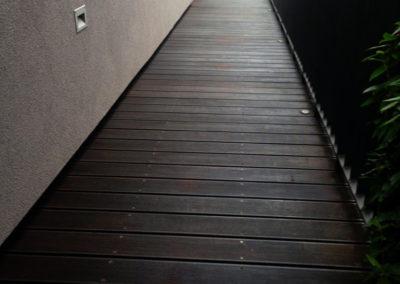Exteriér - podlaha, penetrační nátěr