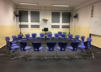 Gymnázium PORG, Praha 4 - rekonstrukce divadelní části - původní stav